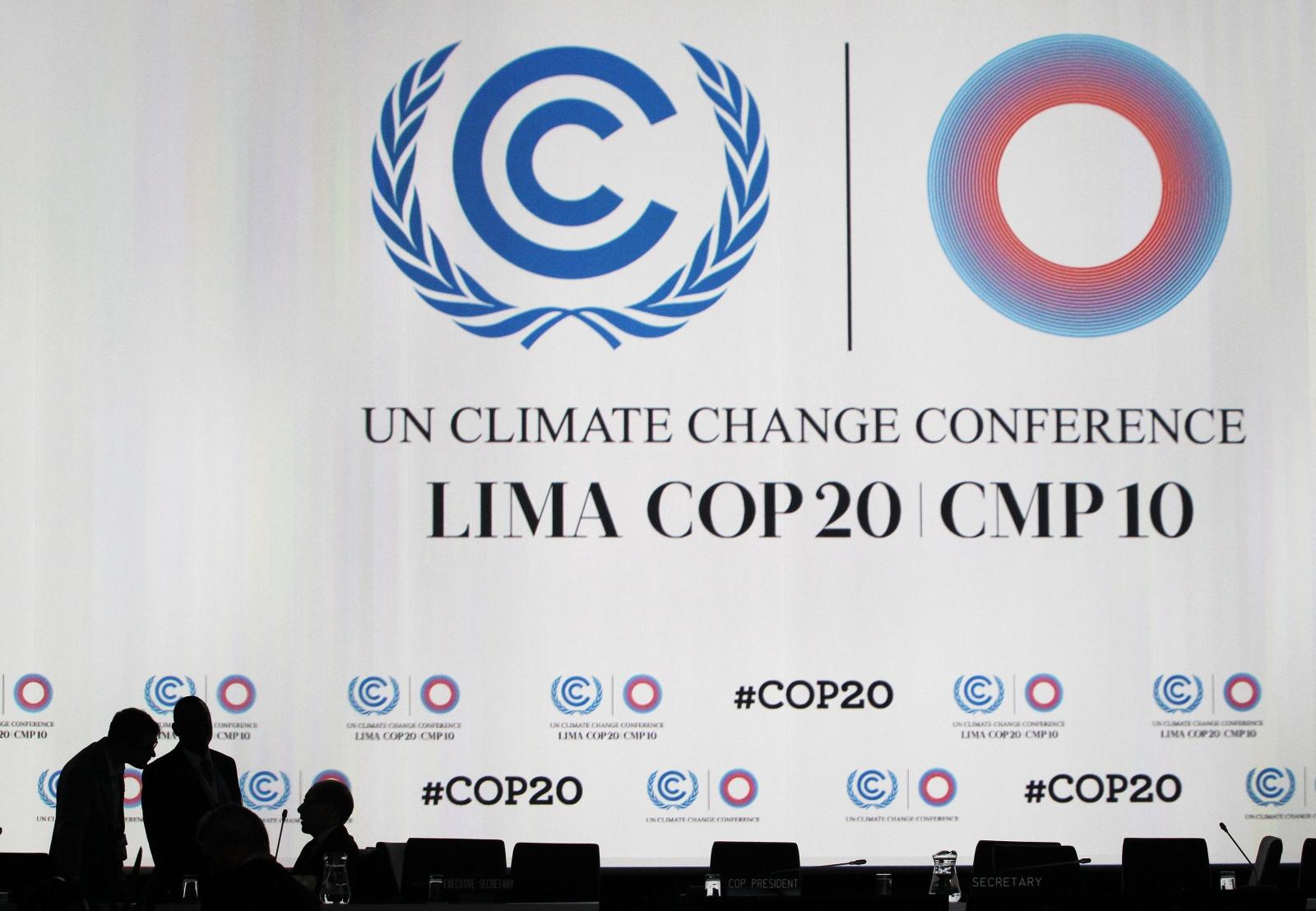 UN climate change talks in Lima, Peru