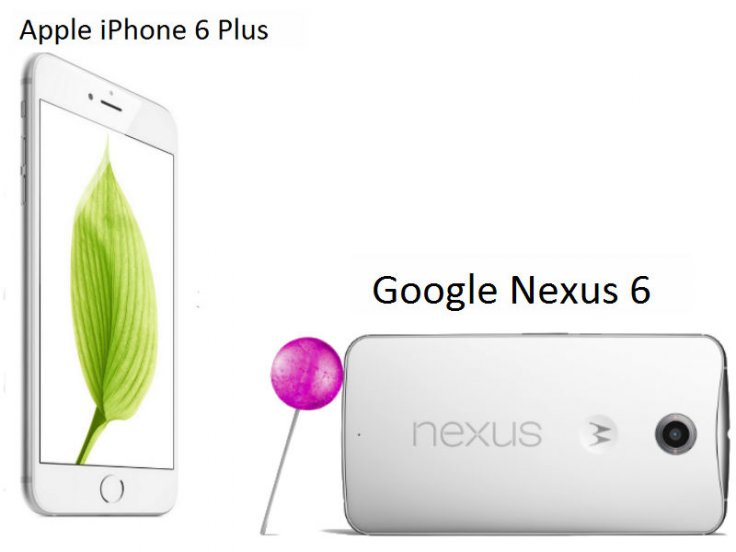 Apple iPhone 6 Plus vs Google Nexus 6: A technical comparison of the flagship smartphones