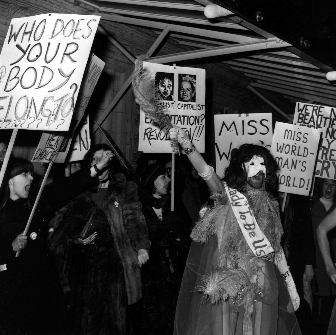 Miss World history 4 - protestors