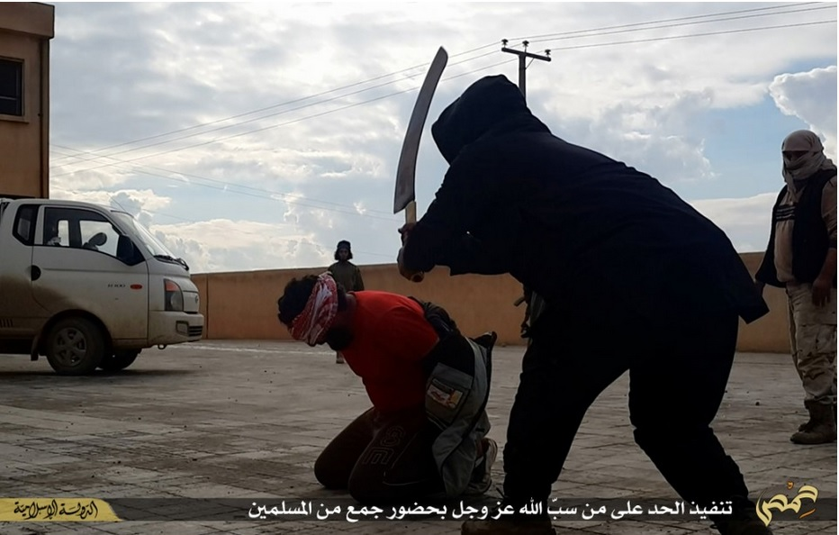 ISIS Execution in Syria