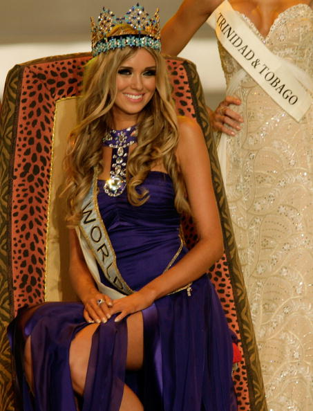 Miss World 2008 was Ksenia Sukhinova from Russia