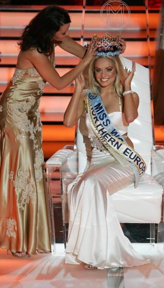 Miss Czech Republic Tatana Kucharova as Miss World 2006