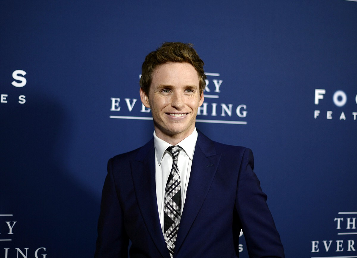 Eddie Redmayne Golden Globes 2015 nominee