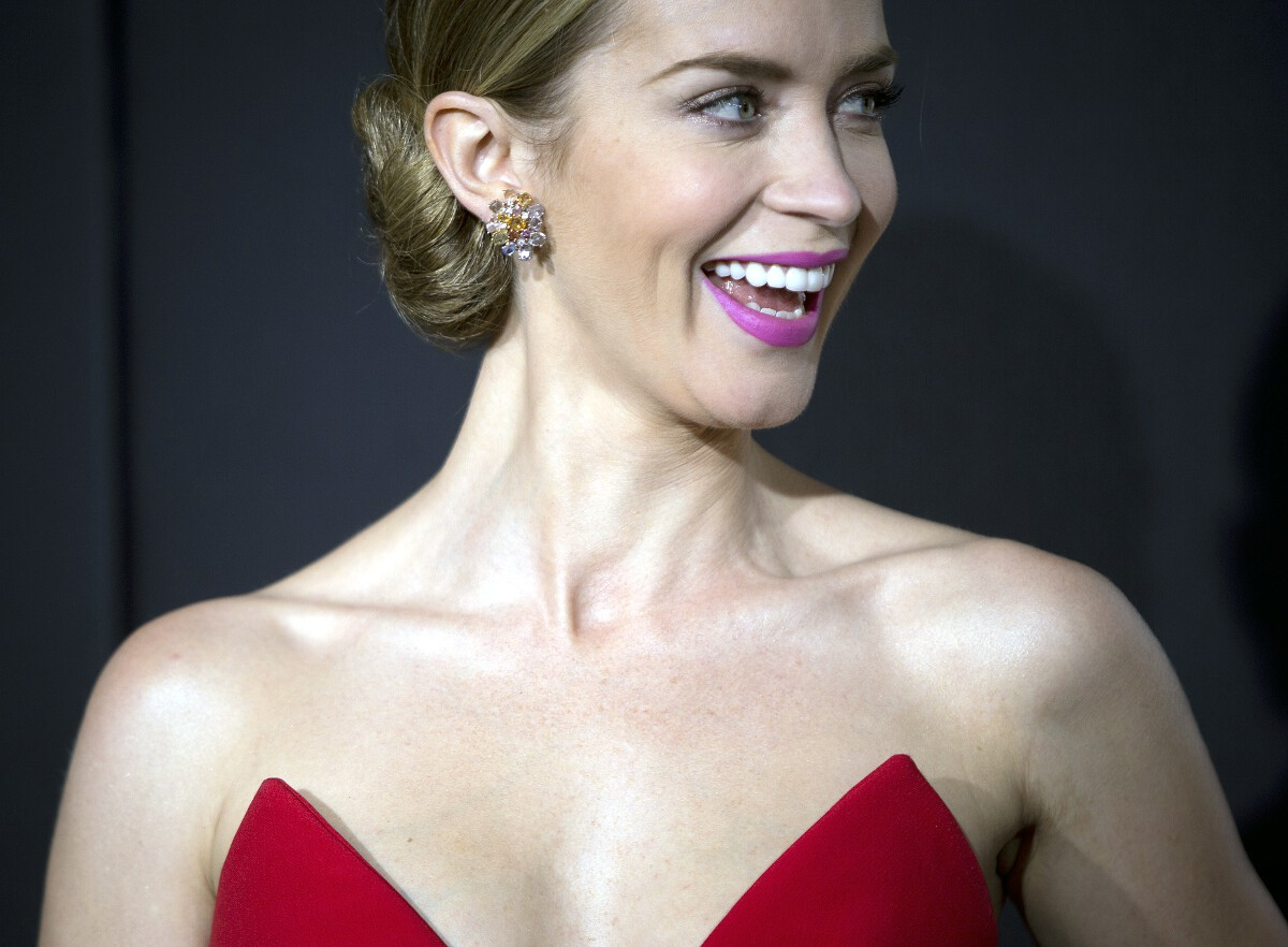 Emily Blunt Golden Globes 2015 nominee