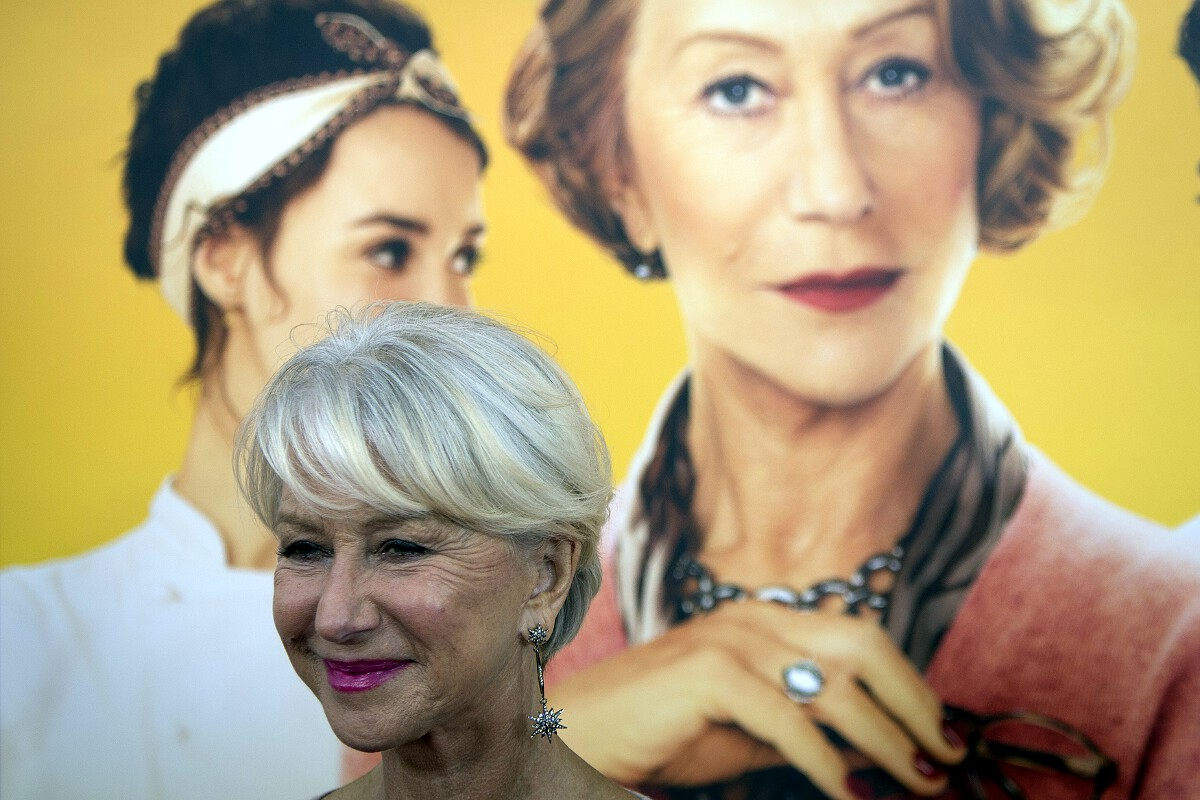 Helen Mirren Golden Globes 2015 nominee