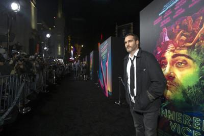Joaquin Phoenix Golden Globes 2015 nominee