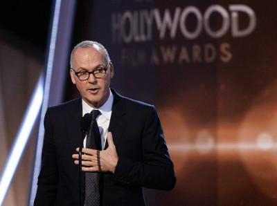 Michael Keaton Golden Globes 2015