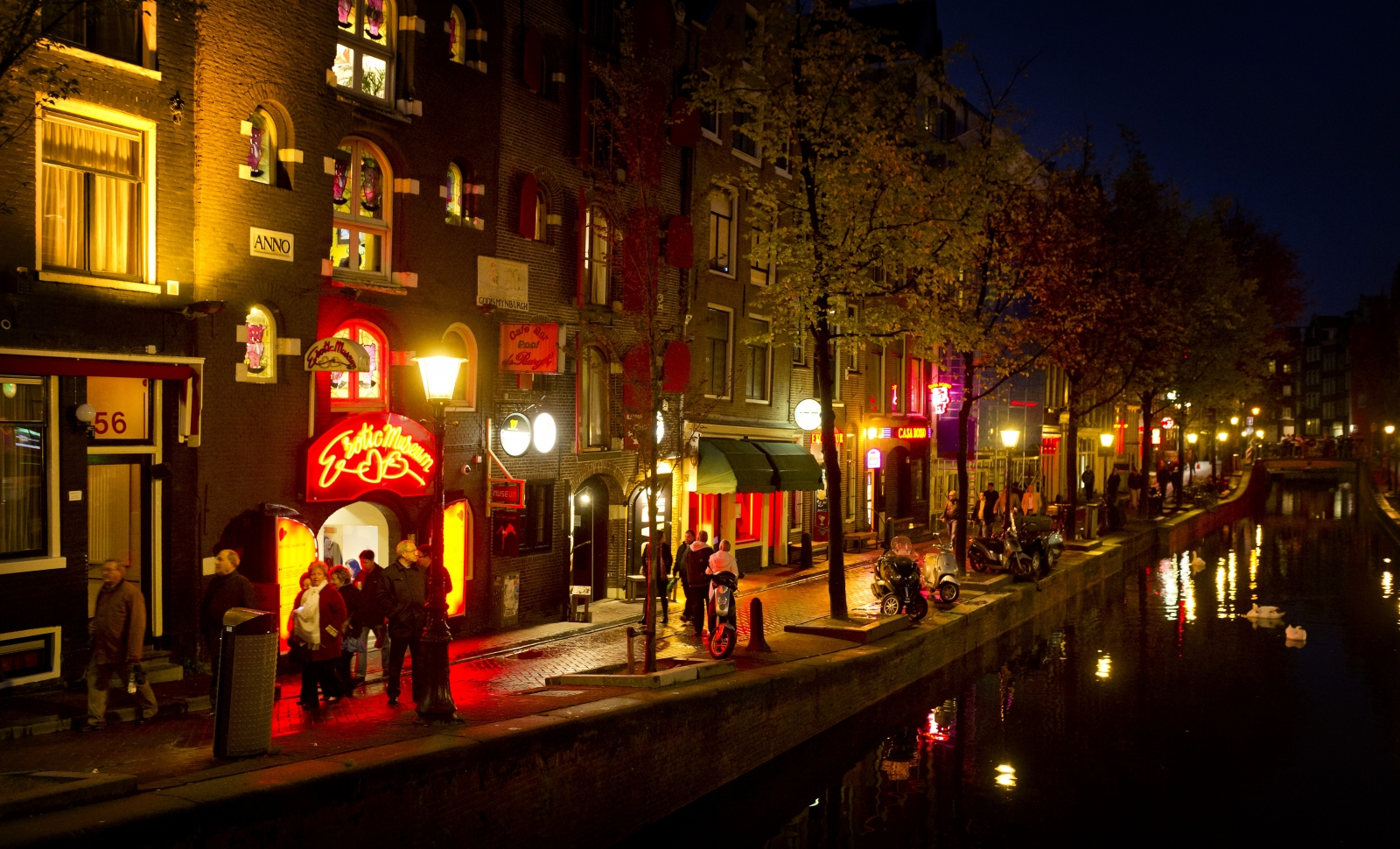 Amsterdam, where a vicious drugs war is being waged, claiming 14 deaths in two years. (Getty)