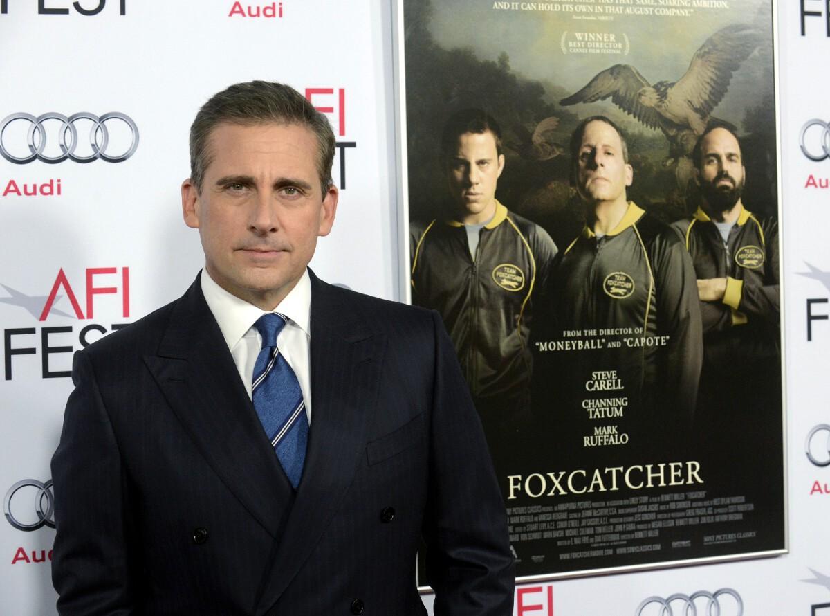 Steve Carell Golden Globes 2015