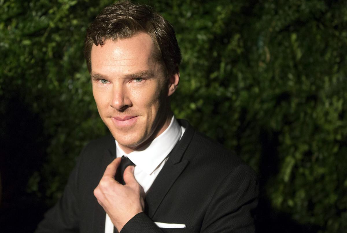 Benedict Cumberbatch Golden Globes nominee 2015