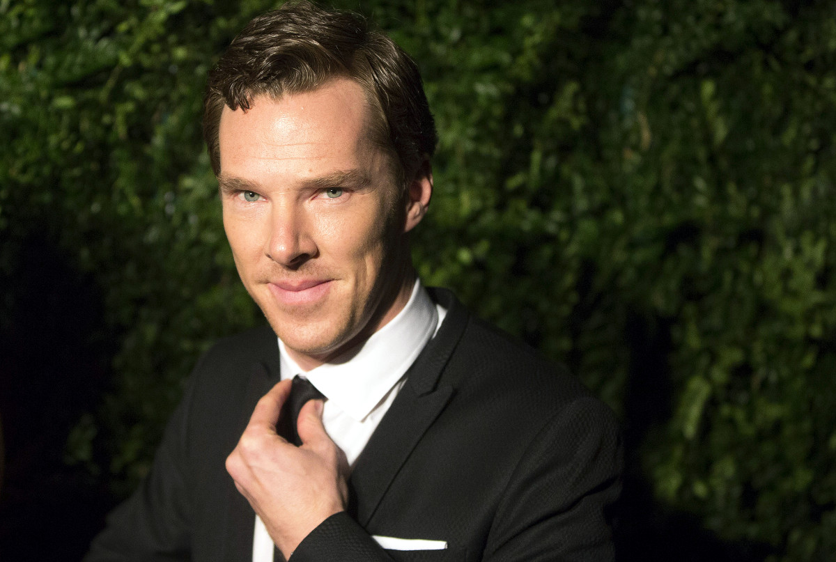 Benedict Cumberbatch Golden Globes nominee 2015