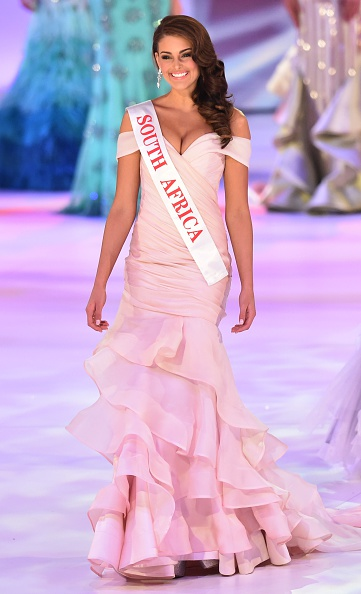 Miss South Africa Rolene Strauss has been crowned Miss World 2014.