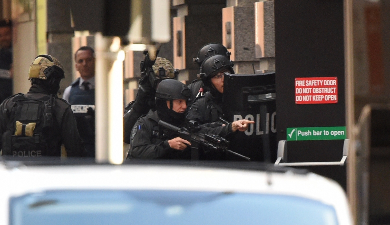 Sydney Siege Tony Abbott Condemns Gunman S Politically