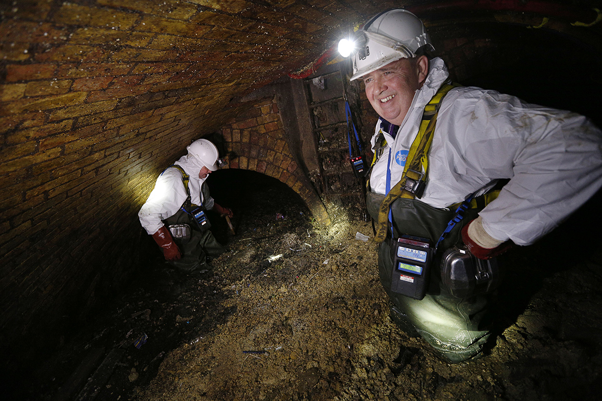 London sewers fatberg