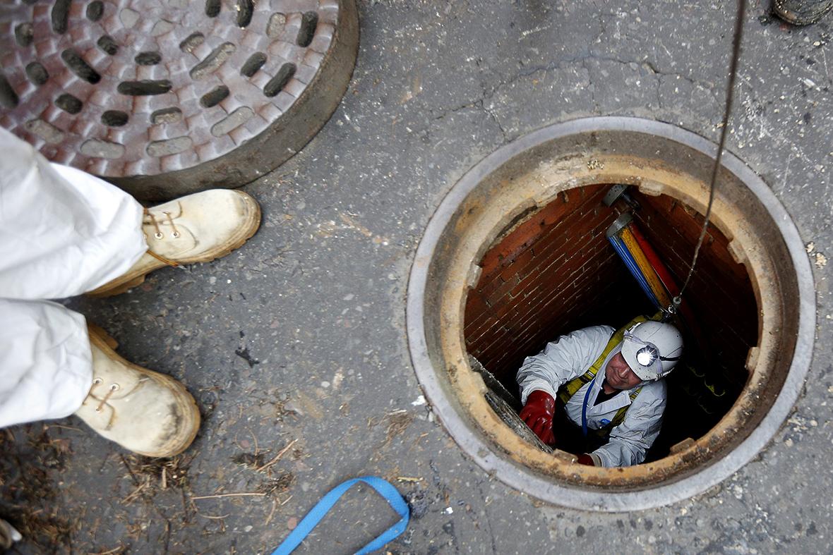 London sewers fatberg