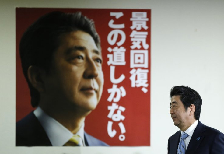 Japan's PM Shinzo Abe re-elected with two-thirds majority: exit polls