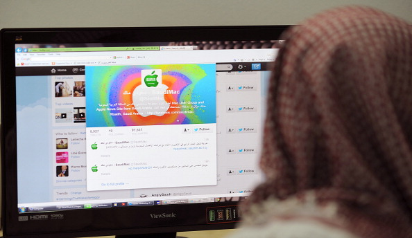 Twitter accounts Saudi Arabia religious police