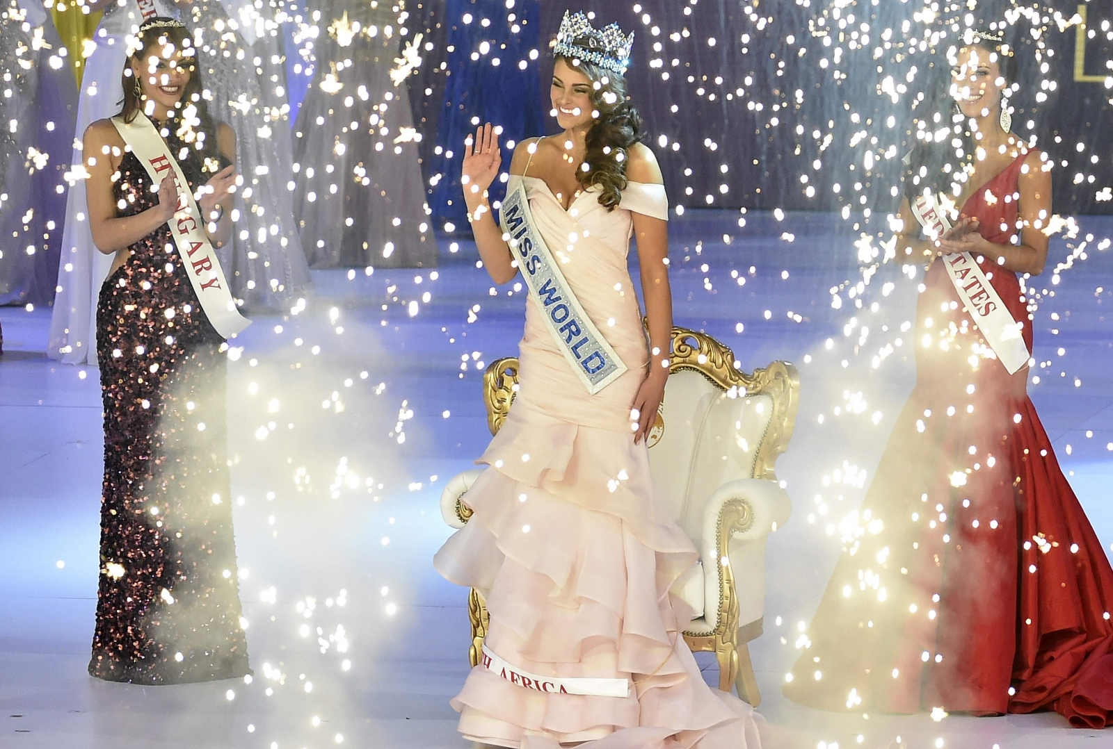 Miss South Africa crowned Miss World 2014