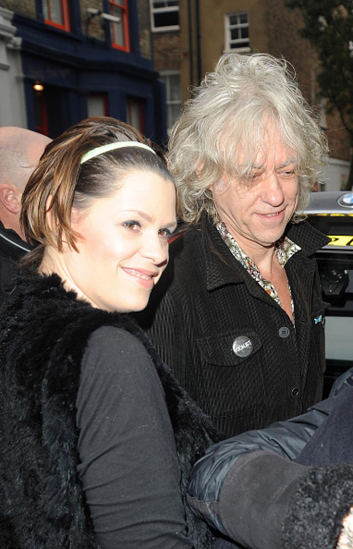 Sir Bob Geldof and daughter Fifi Geldof