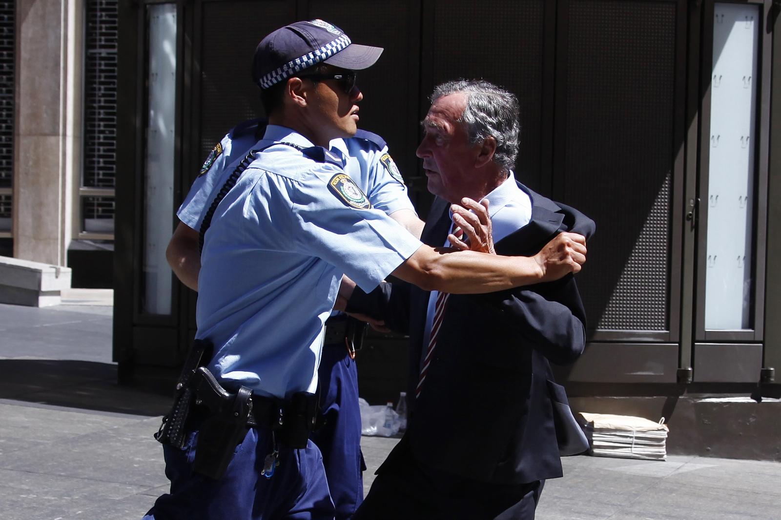 Martin Place Sydney seige hostage situation
