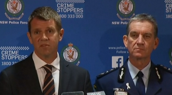 Police hold press conference on Sydney siege