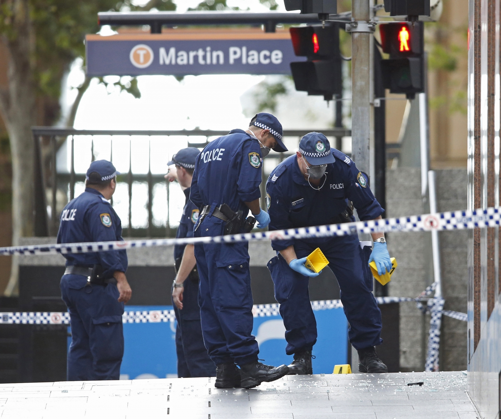 Bomb threat in Australia's foreign affairs department