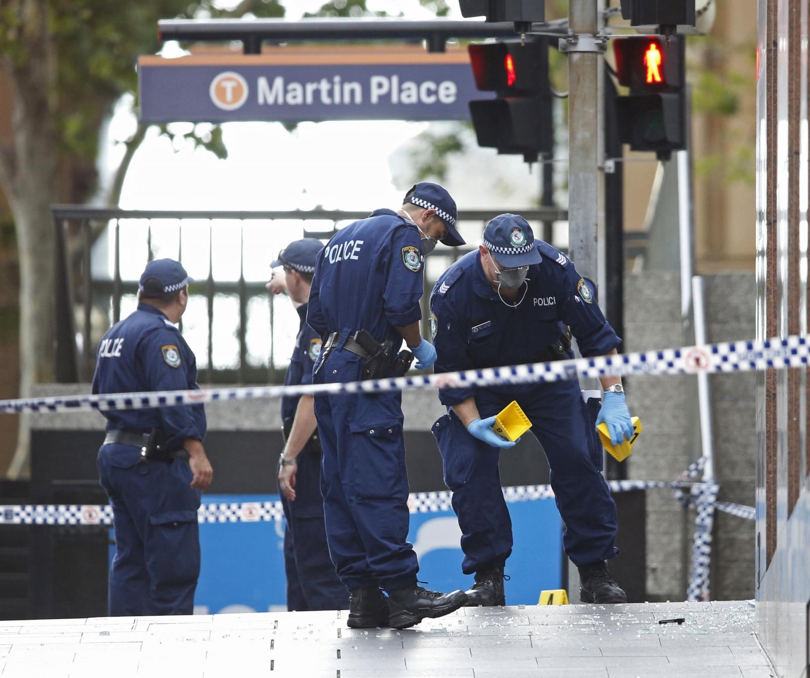Bomb threat in Australia's foreign affairs department