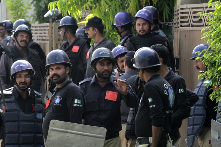 Karachi school grenade attack