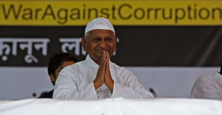 India Anna Hazare