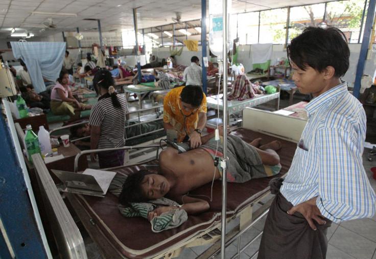 malaria myanmar
