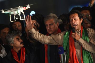 imran khan drone