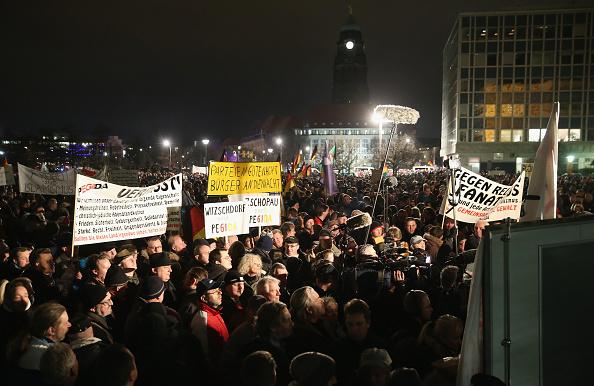 Pegida anti-Islam protests