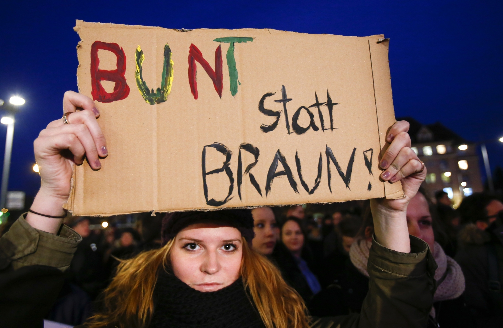 Germany: 15,000 join anti-Islam protest in Dresden