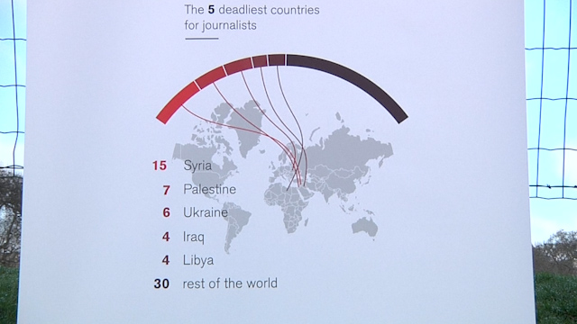 66 journalists killed whilst reporting over past year, says RSF