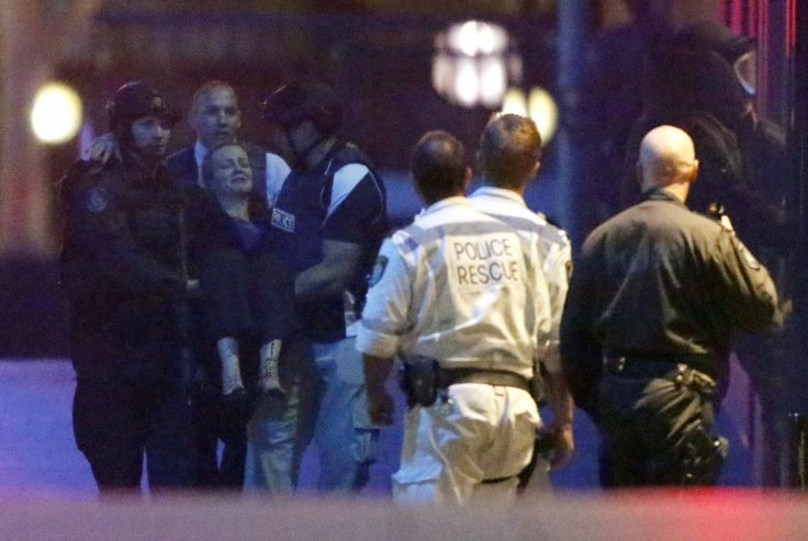 Dramatic footage shows end of the Sydney cafe siege