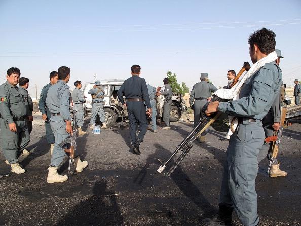 Lashkar Gah suicide bomb