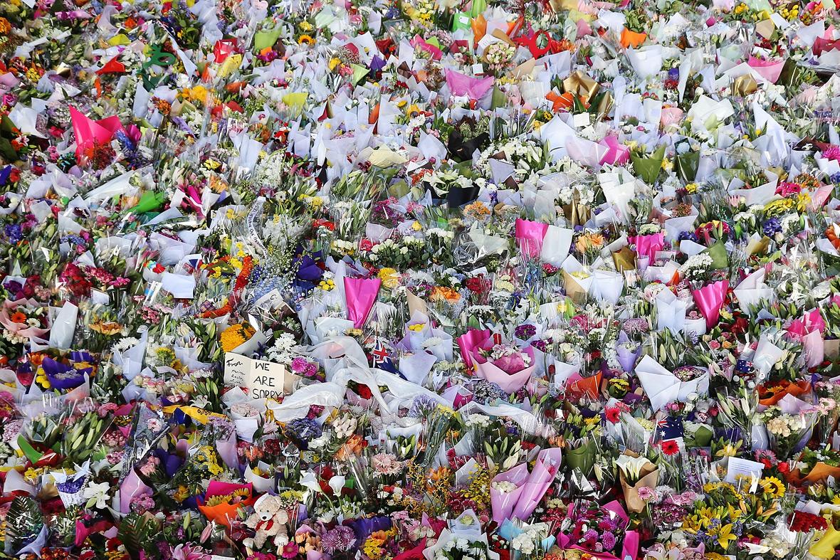 sydney siege flowers
