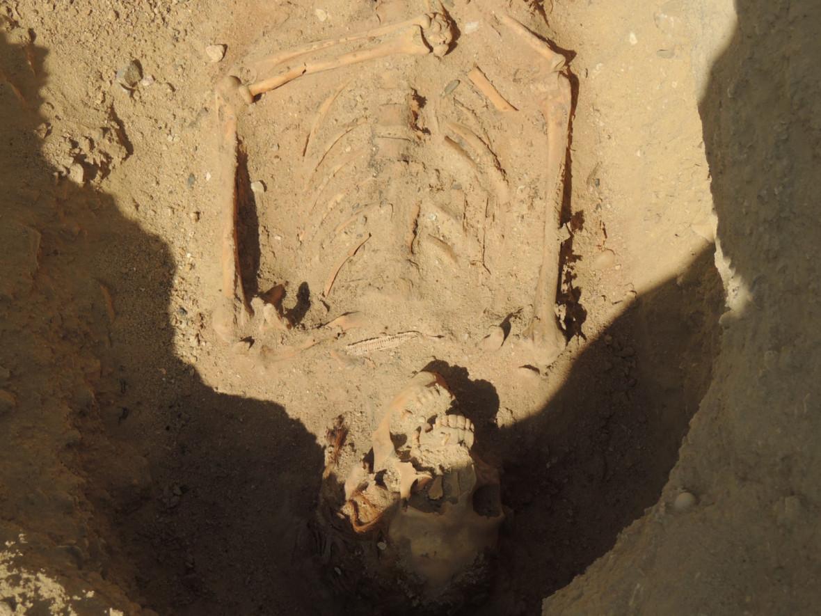 mass grave egypt