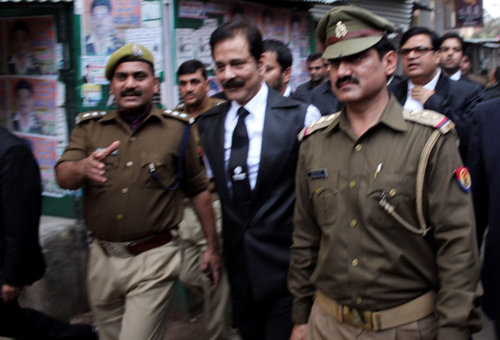 Sahara Group Boss Subrata Roy