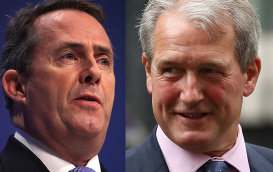 Dr Liam Fox and Owen Paterson