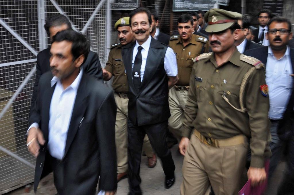 Sahara Group Boss Subrata Roy