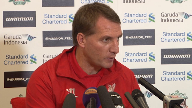 Rodgers dismisses talks of dressing room unrest at Liverpool