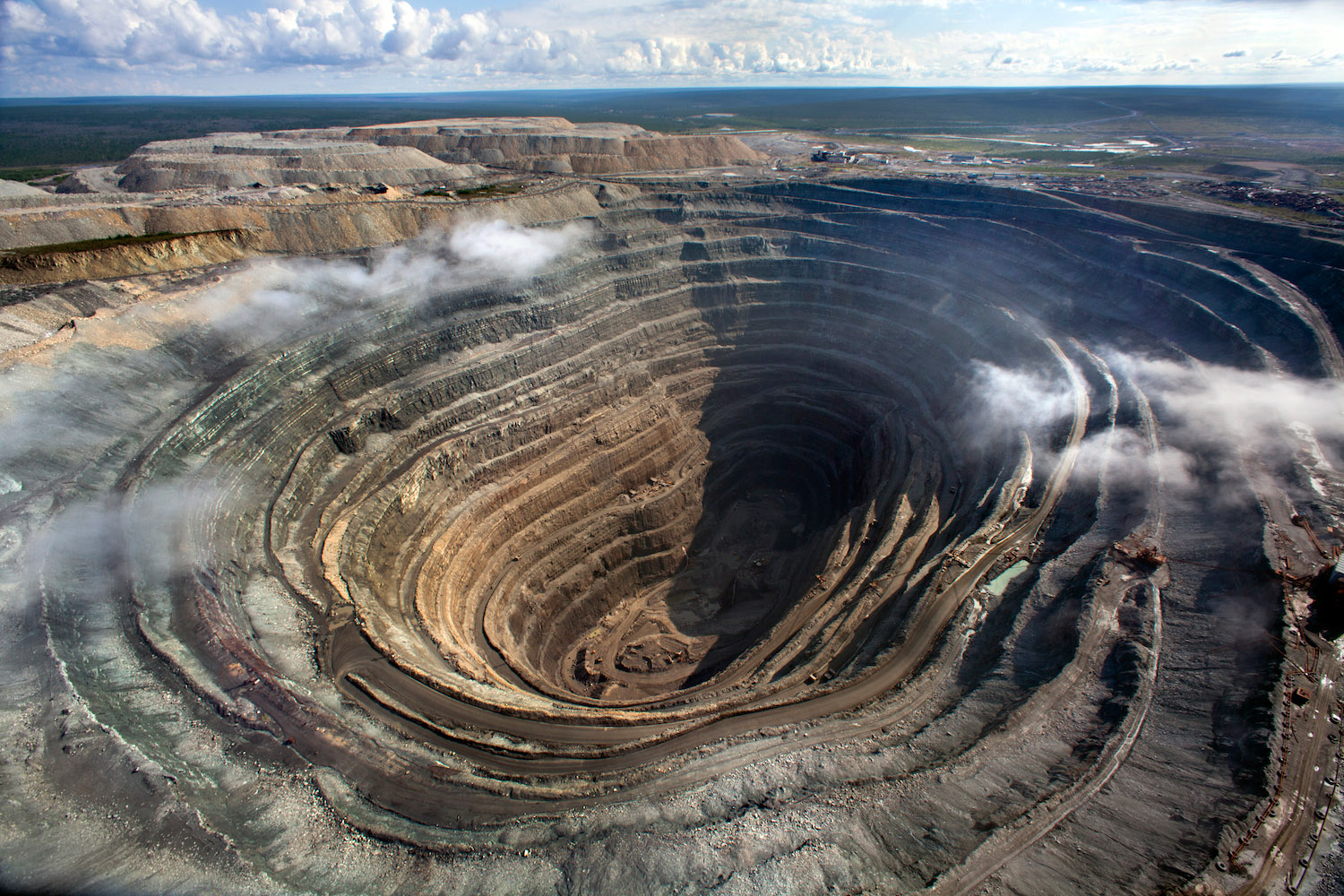 russia diamond mine