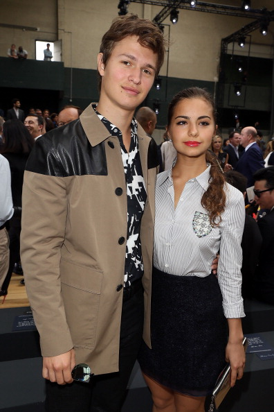 Ansel Elgort and Violetta Komyshan split