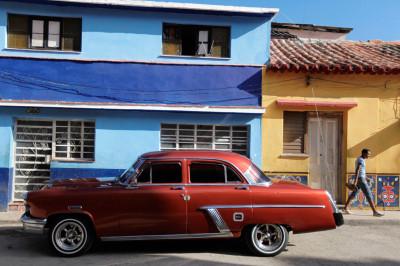 Vintage American cars Havana Cuba