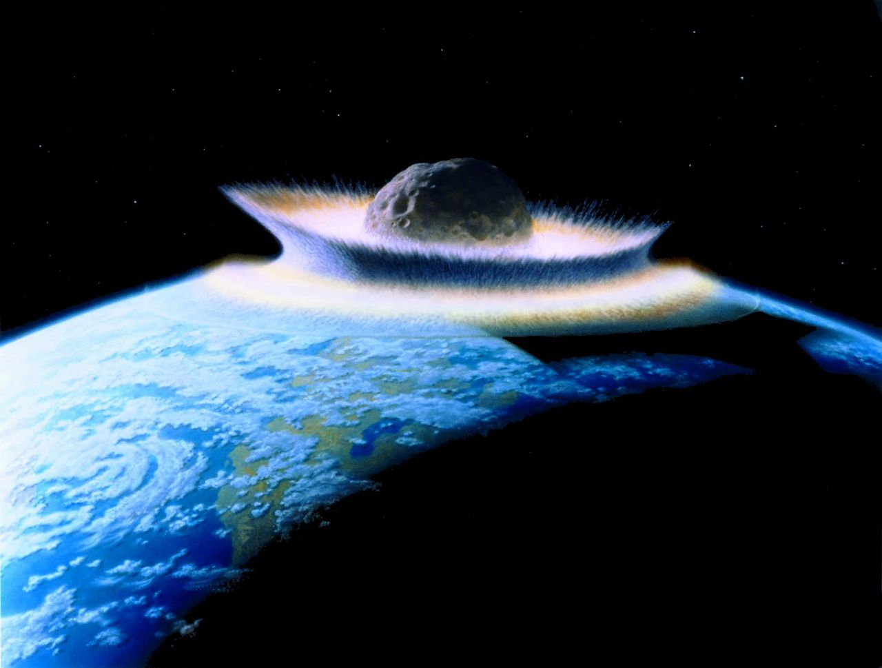 how big was dinosaur asteroid - photo #7