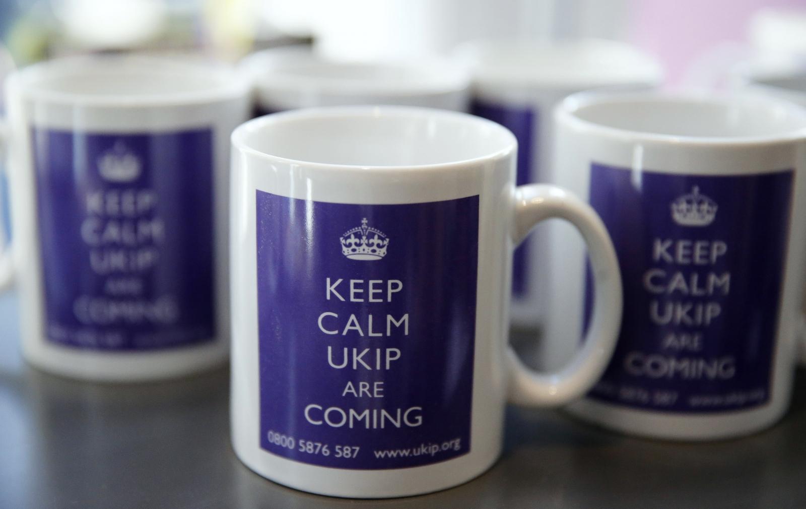 Keep calm Ukip mug