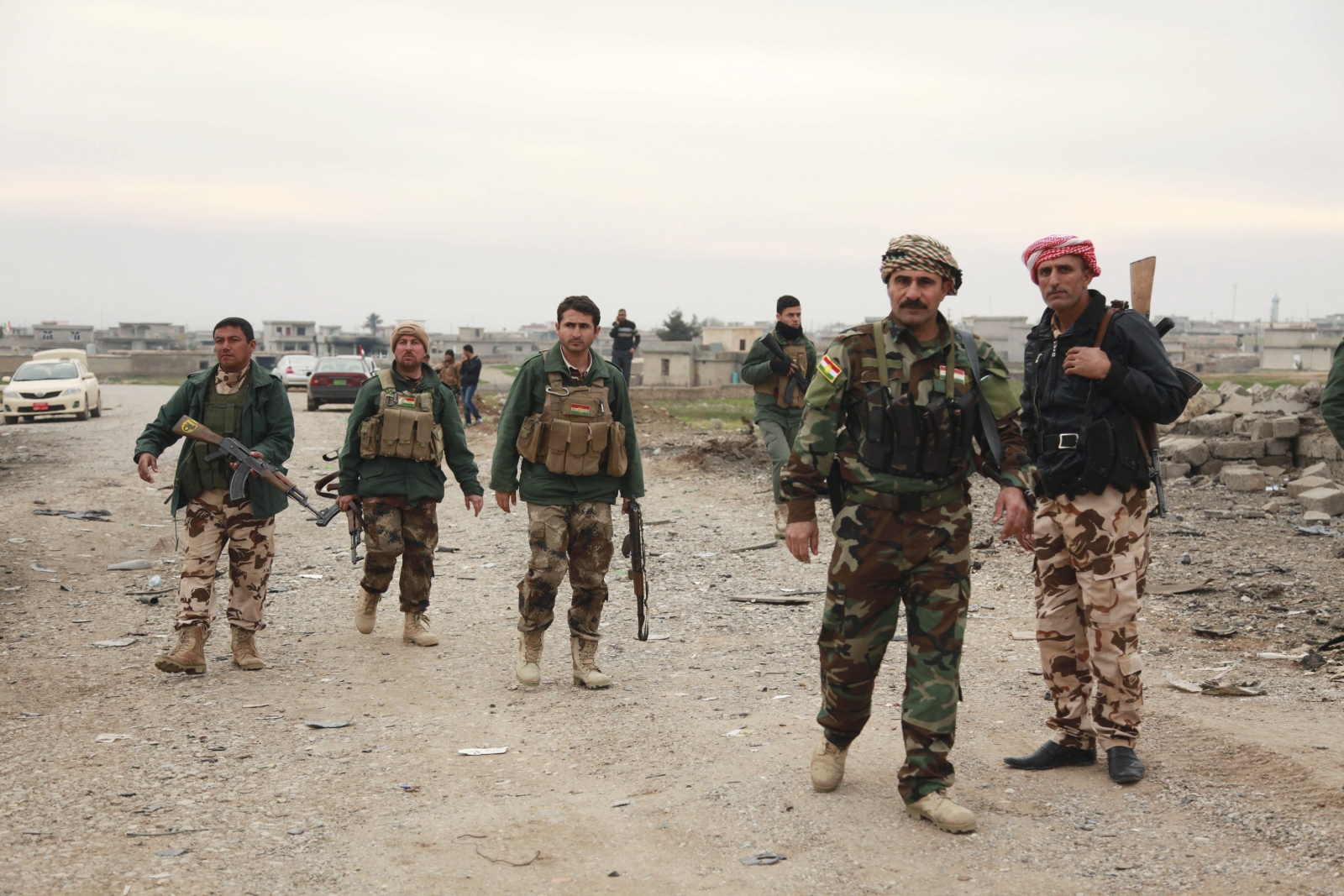 Kurdish Peshmerga forces claim freeing Mount Sinjar from Isis