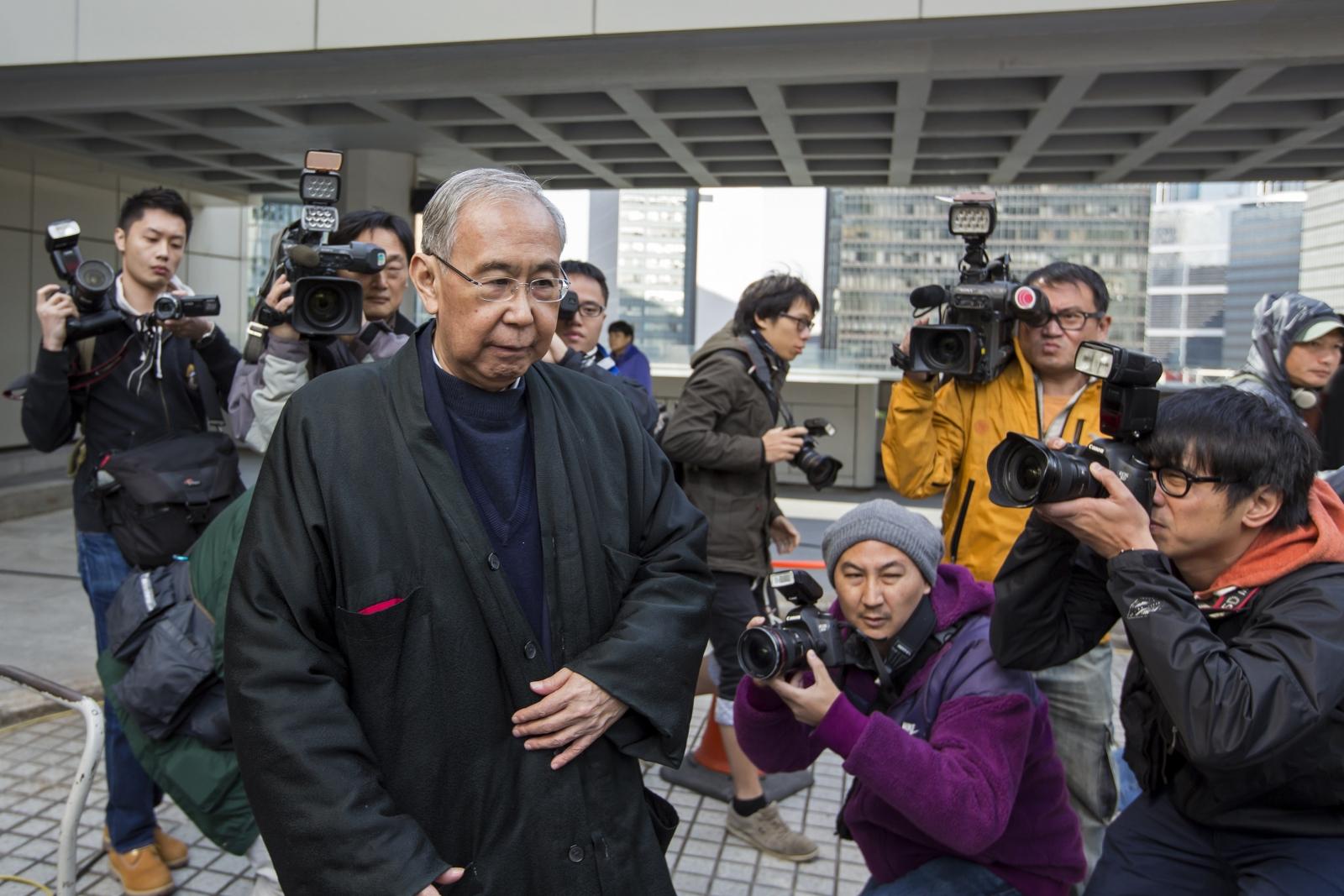 Hong Kong's former chief secretary Rafael Hui