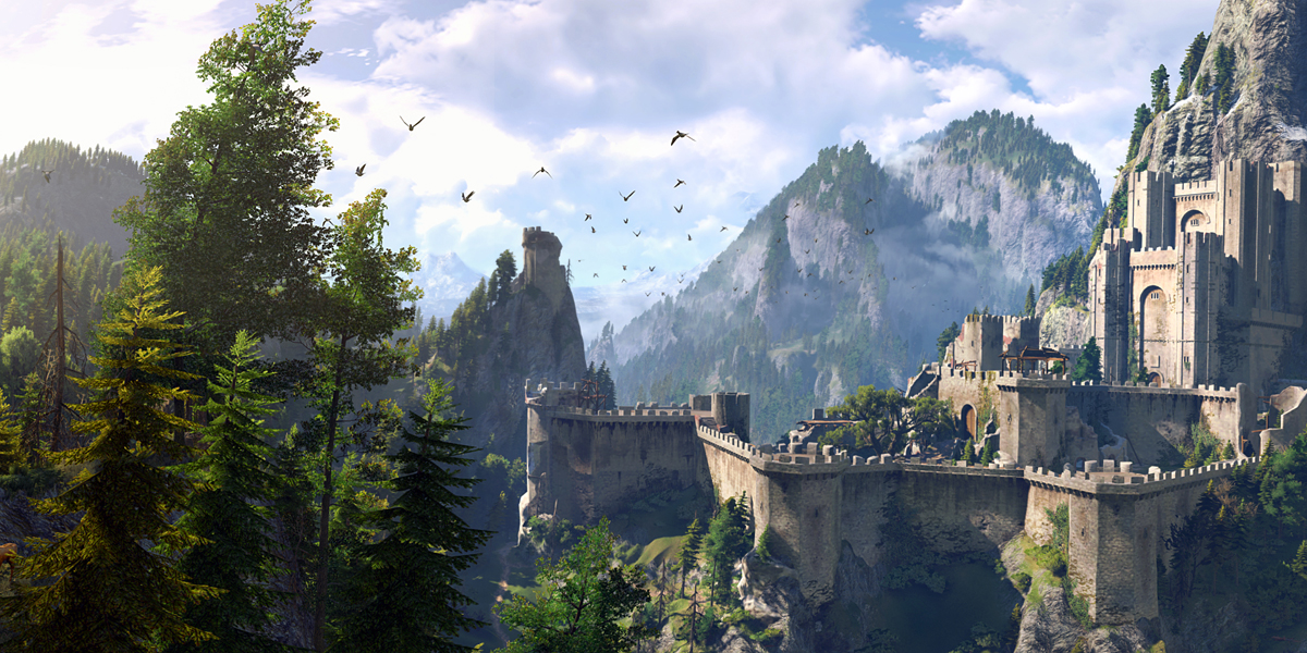 The Witcher 3: Wild Hunt landscape world setting